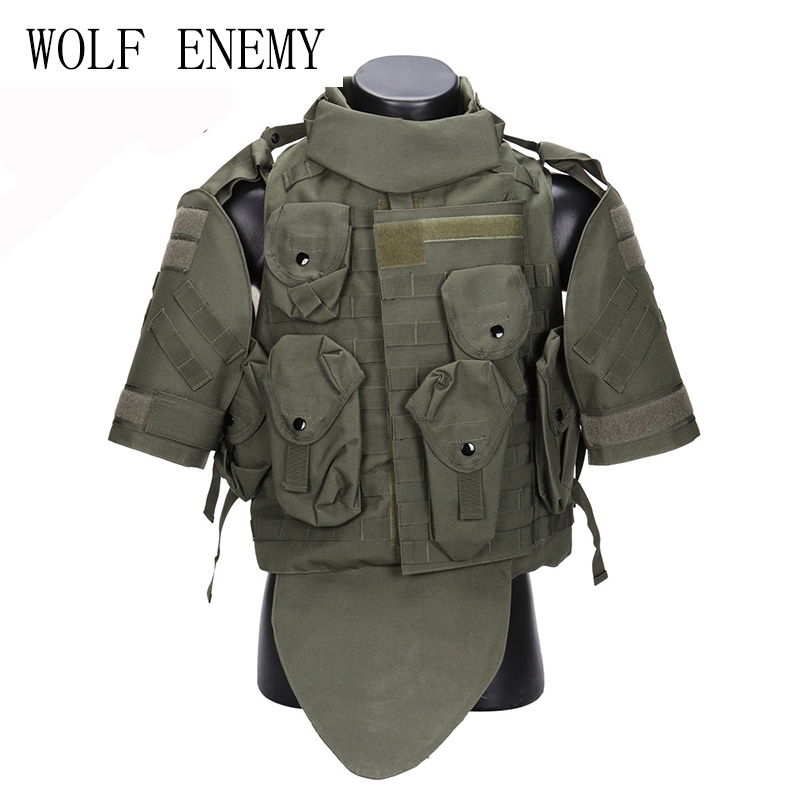 OTV Tactical Vest Camouflage combat Body Armor With Pouch/Pad ACU USMC Airsoft Military Molle Assault Plate Carrier CS Clothing