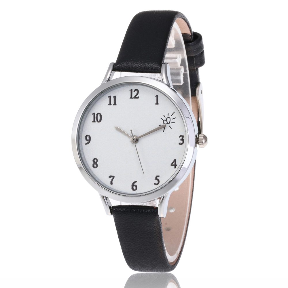 Women Watches New 8 Colour Slim Dial Leather Analog Classic Casual  Leather Quartz Women Watch Top Brand  Watches Relojes Mujer