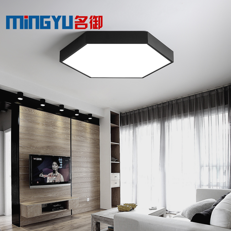 Surface Mount Modern LED Ceiling Light Living Room Bedroom Bathroom Remote Control Home Decoration Kitchen Ceiling Lamp Lighting black and white round lamp modern led light remote control dimmer ceiling lighting home fixtures