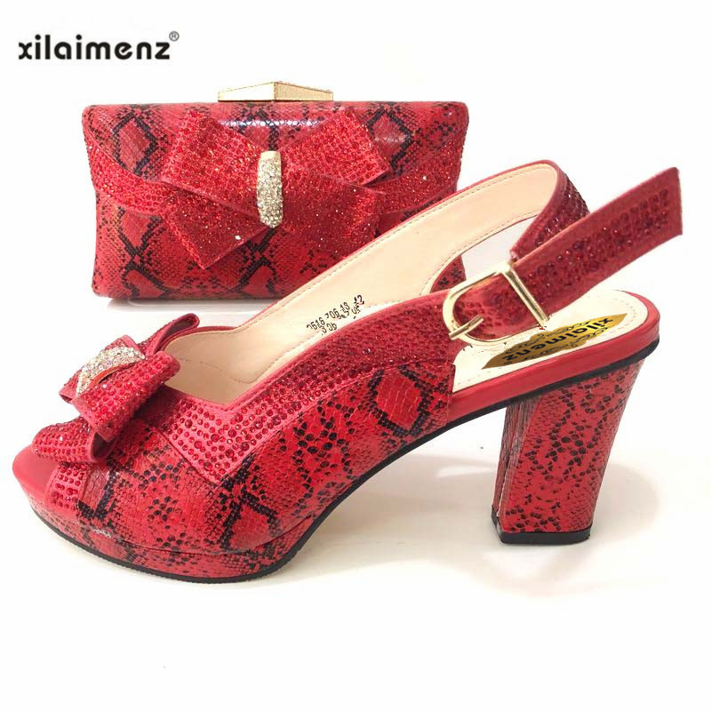 Damen Super Italienischen Farbe sliver Strass Neue Tasche Rabatt Black Rosa Schuhe Schmücken pink Freies Shop green Passen Zu gold 40 Und Heels Mit Verschiffen High red fwYxYnP0v