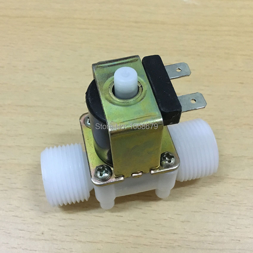 DC 12V DC 24V 3 4 39 39 Electric Water Normally Open Solenoid Valve Magnetic Water Control Diverter in Valve from Home Improvement