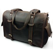Brand Men Bag Casual Men's Luggage Bag Shoulder Laptop Crossbody Big Size Bag Men Leather Men's Travel Bags 2017