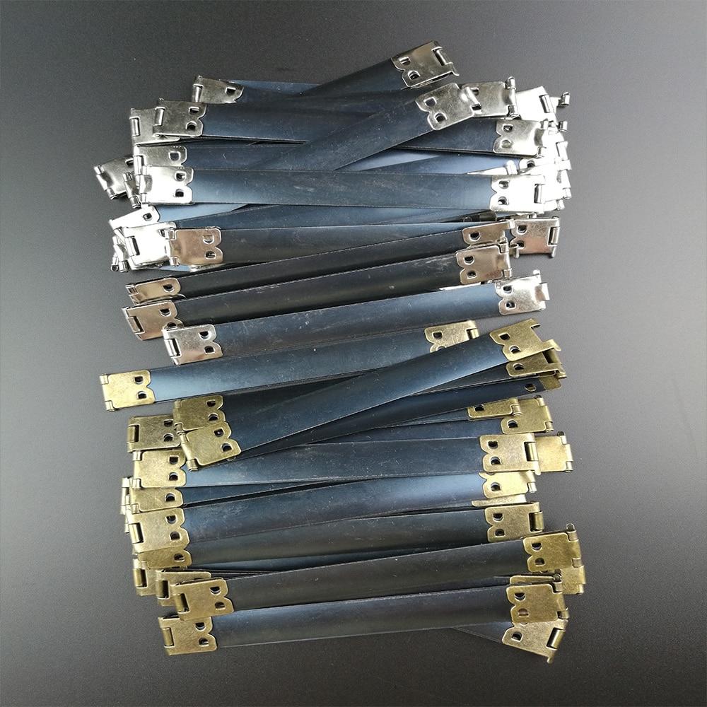 5 шт./компл. металлический внутренний каркас пружинная защелка для Кошелек Винтаж внутренний гибкий каркас сумки из натуральной кожи Ручка DIY Швейные аксессуары для сумок 8/10/12 сантиметров
