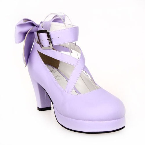 Princess sweet lolita shose Lolilloliyoyo antaina lolita shoes bow princess shoes high heeled dress shoes 8280 cosplay 2018 spring sweet bow elegant lolita cosplay shoes chunky high heel pumps princess party shoes