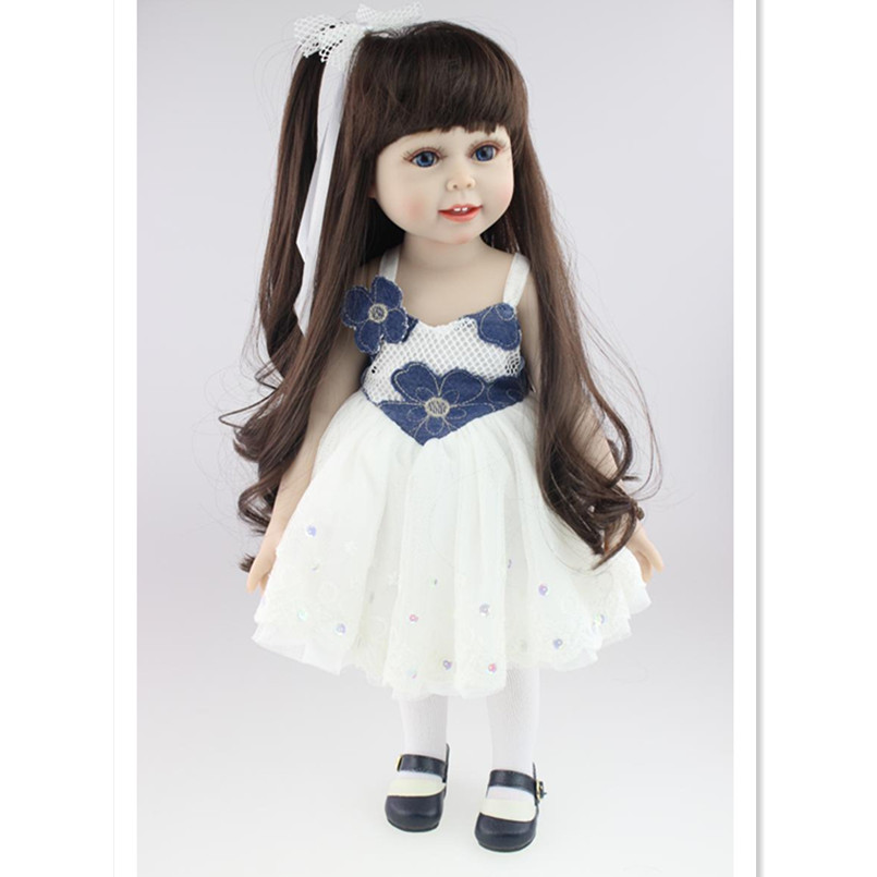 American Girl Doll Clothes for 18 Inch Dolls,Beautiful Toy Dresses Outfit Set,Fashion Dolls Clothes Doll Accessories 9 colors american girl doll dress 18 inch doll clothes and accessories dresses