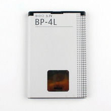 Original High Capacity BP-4L phone battery for Nokia E71 6650F N97 N810 E72 E52 E61i E63 E90 E95 BP4L 1500mAh mallper replacement bp 4l 3 7v 1400mah li ion battery for nokia 6790 e52 e55 more orange