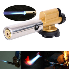 Gas Torch Flame Cooking Soldering Butane Automatic Electronic Gas Welding burner Lighter Gas Welding Torch Gas Burner Flame