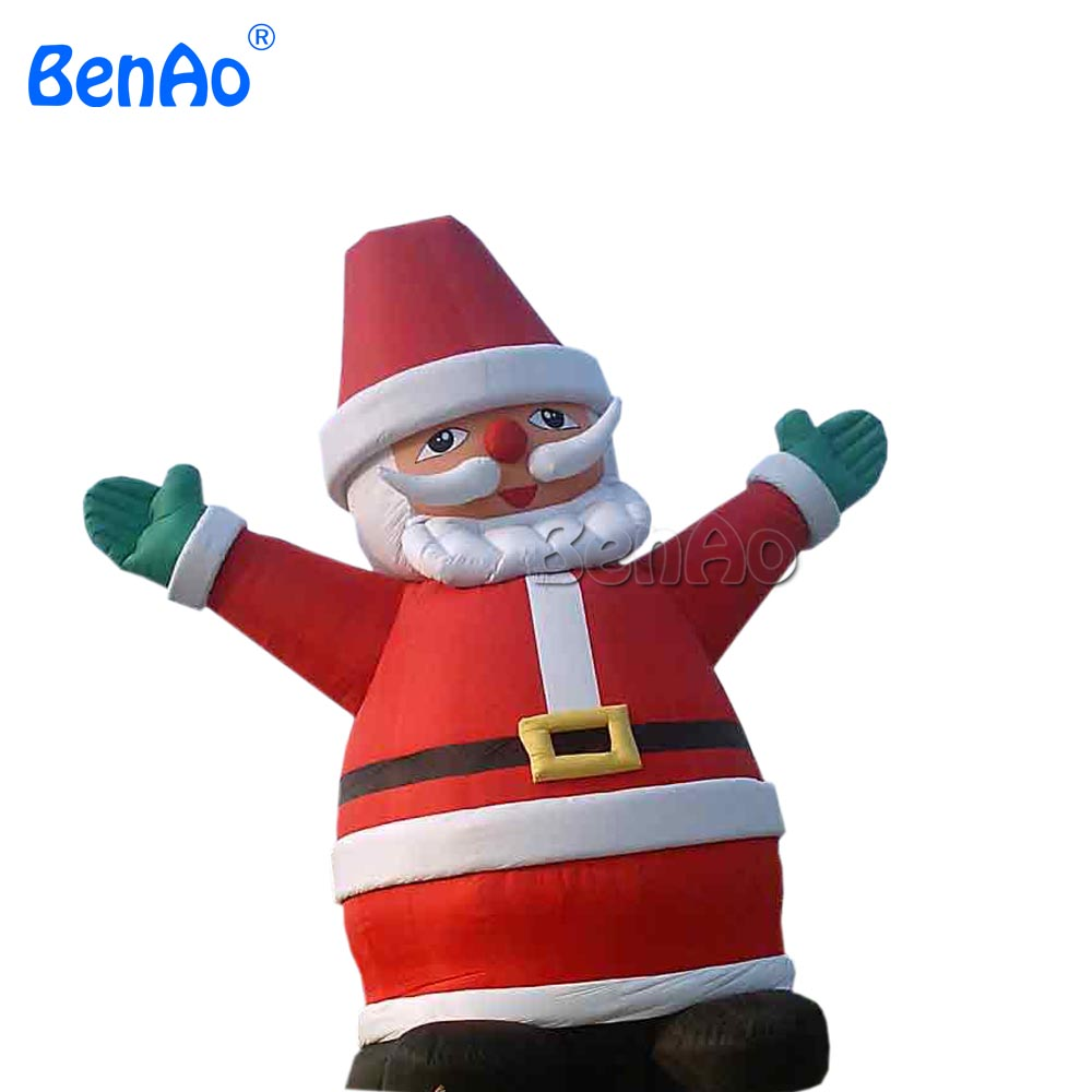 X063 10m 33ft hight Hot sale inflatable christmas,lowes christmas inflatables,inflatable santa claus decorations