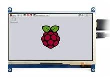 "Waveshare 7 ""HDMI LCD (C) מגע קיבולי מסך IPS תומך פטל Pi אפס/אפס W/אפס WH/2B/3B/3B + מחשב צג"
