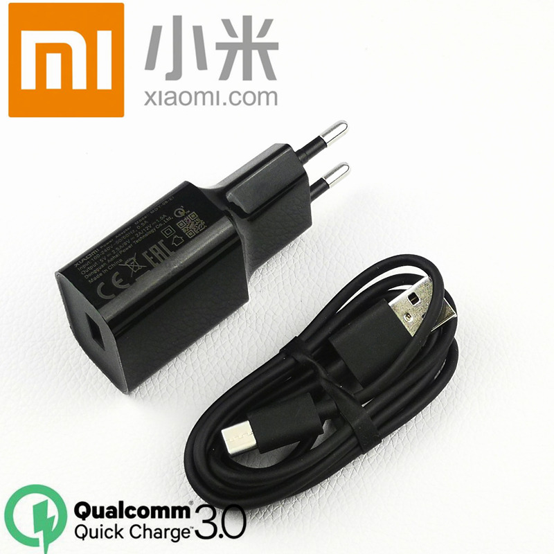 Buy Cheap Original Eu Xiaomi Mi Max 3 Fast Charger Qc 3.0 Quick Charge Power Adapter Type C Cable For A2 Mi8 Mix 2 2s 3 A1 6 8 Se Mi6