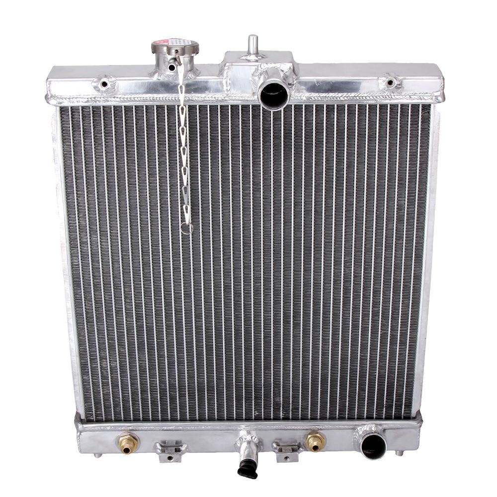 Car Full Aluminum Radiator For HONDA Civic V VI 4cyl EK1-EK9 EK3 EK EG MA MB 1.3L 1.4L 1.5L 1.6L 1991-2001