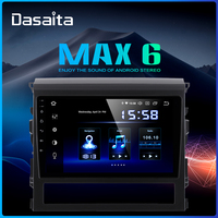 Dasaita 10.2 IPS 1 Din Android 9.0 Car Stereo for Toyota Land Cruiser 2016 GPS Navigation DSP HDMI
