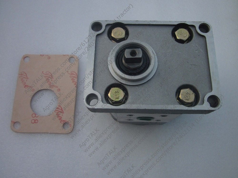 JINMA 454 tractor parts, the steering pump for tractor with engine SL3105ABT2, part number: jiangdong ty395e jd495 engine for tractor like jinma the water pump two inlet pipes