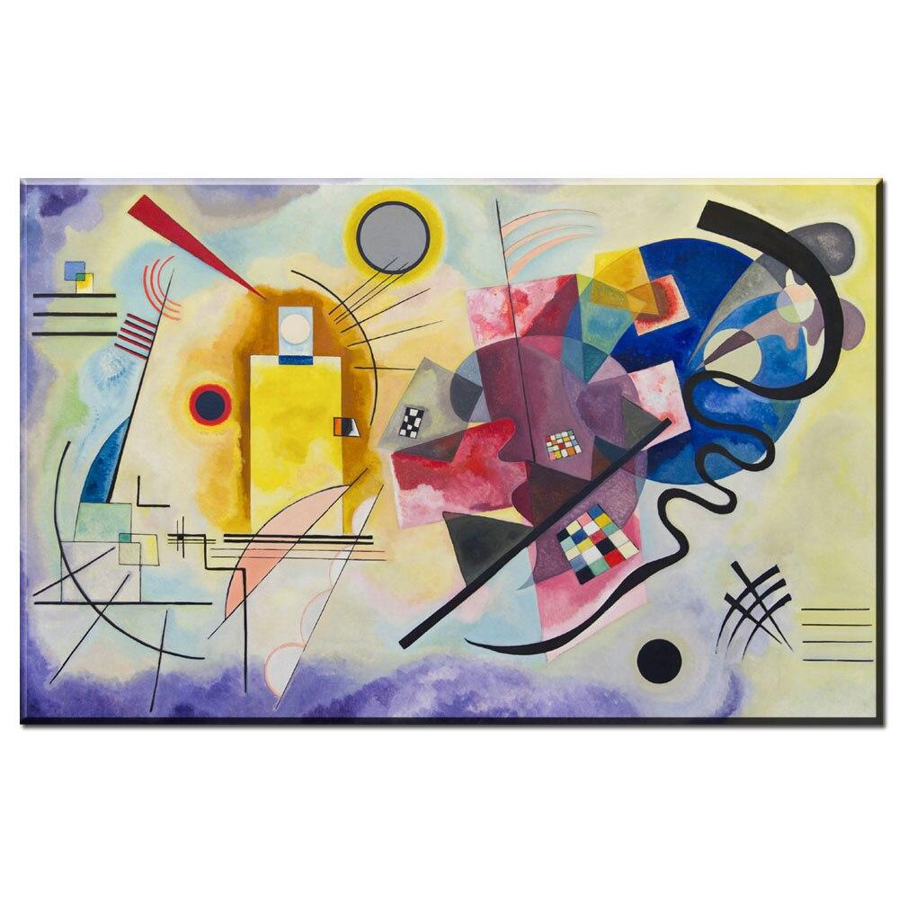Xdr603 Wassily Kandinsky pintura DIY marco Art posters impresión ...