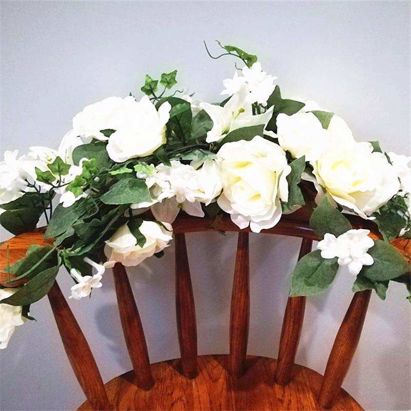Wedding Altar Flowers With Eucalyptus: Eucalyptus Garland, Wedding Garland, Wedding Backdrop