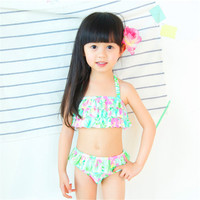 New Arrival Hot Selling children's Girls beach beach dress bikini little pony bikini Baby Kids Child Beach Clothes