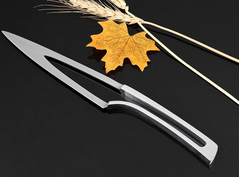 Set 4 pz coltelli Da Cucina In acciaio inox 4