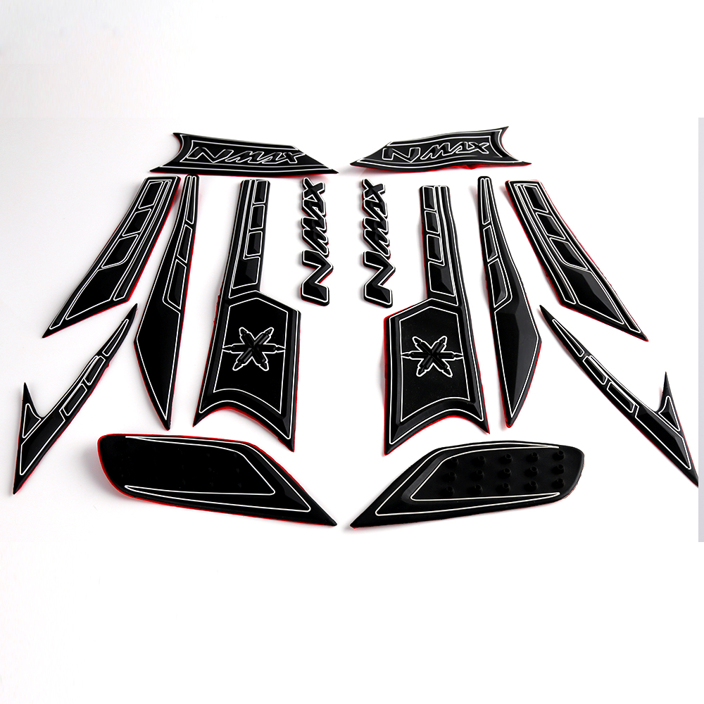 Motorcycle Accessories Whole Body Motorcycle <font><b>Sticker</b></font> Decal Emblem Gripper Stomp Grips Easy For <font><b>Yamaha</b></font> <font><b>nmax</b></font> 155 image