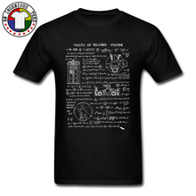 Albert Einstein E MC2 Formulas Math Physics Science T Shirt Tardis Doctor Who Theory of Relativity Spacetime T-shirts Mens Brand