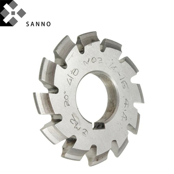 Can be customized 1/8, 3/16, 5/16  pitch disk type gear milling cutter  rotary milling cutter for gear cutting