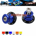 For SUZUKI GSX-R600 GSXR750 GSX-R 1000 GSXR 600 GSX-R 750 GSXR1000 GSXR600 GSX-R750 Swingarm Spools slider 8mm stand screws Blue