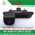 Камера заднего вида Для skoda octavia fabia audi A1 автостоянка камера Багажника ручка камера Ночного видения водонепроницаемый цвет