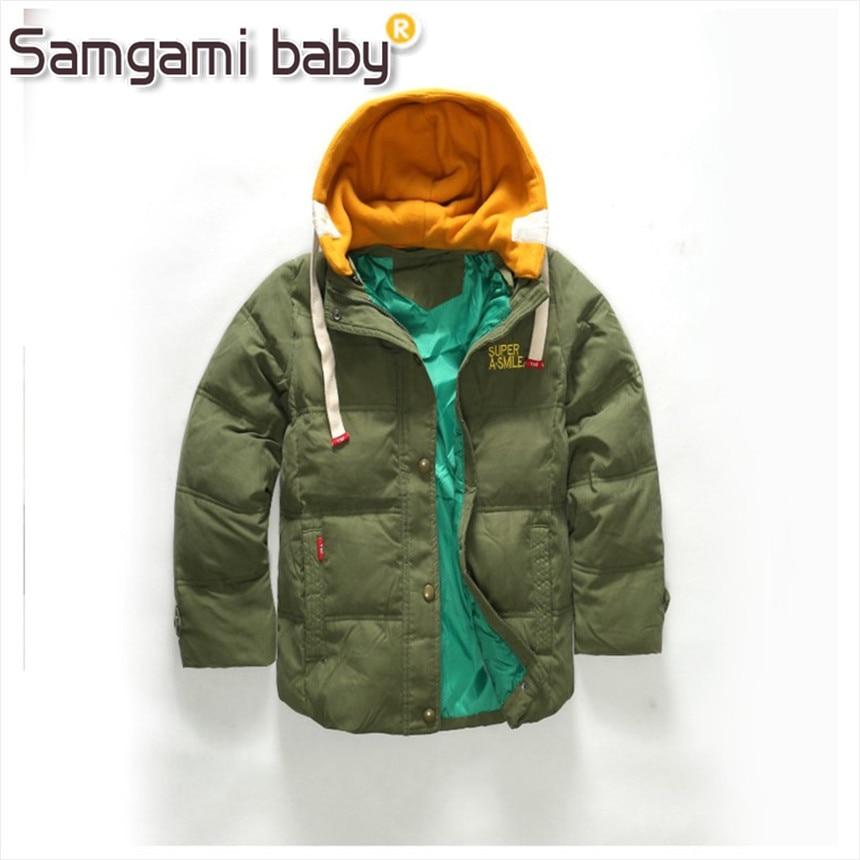 0b85b8a2e92e SAMGAMI BABY Retail 2018 Children Jackets For Boys Girls Winter ...