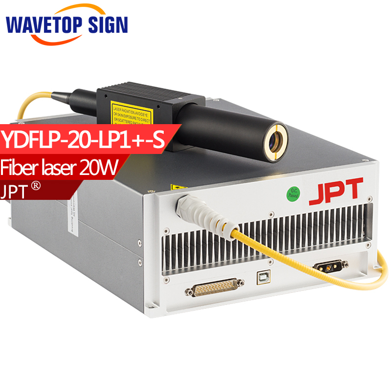 fiber laser module 20w JPTYDFLP-20-M1-S Fiber laser module 20w air cooling use fiber laser mark machine fiber laser mark machine lift worktable laser mark machine lead head up and down system lift system height 600mm 800mm