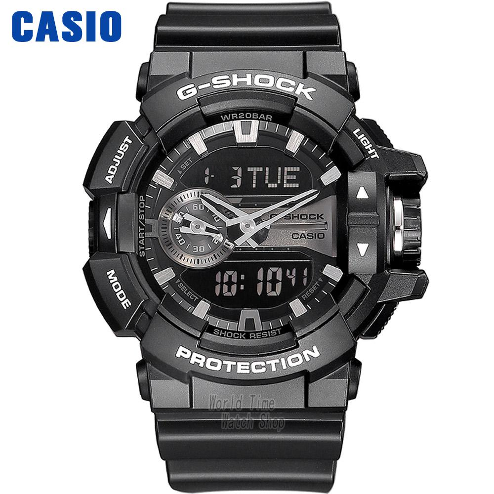 Casio Watch Direct Action Rotary Crown Movement Waterproof Male Table GA-400GB-1A GA-400GB-1A4 GA-400GB-1A9 casio ga 400gb 1a