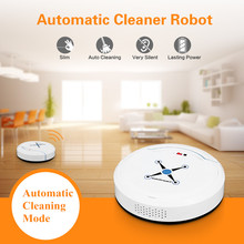 Home Smart Electric Vacuum Cleaner Ultra-thin Small Charging Sweeping Robot Vacuum Cleaner Automatic Mopping Cleaning Machine 2600mah vacuum cleaner sweeping robot home intelligence fully automatic washing and mopping ultra thin vacuum cleaner