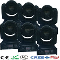 6pcs Mini Spot 30W Led Moving Head Light With Gobo Plate&Color Plate,High Brightness 30W Mini Led Moving Head DMX512 dj lighting