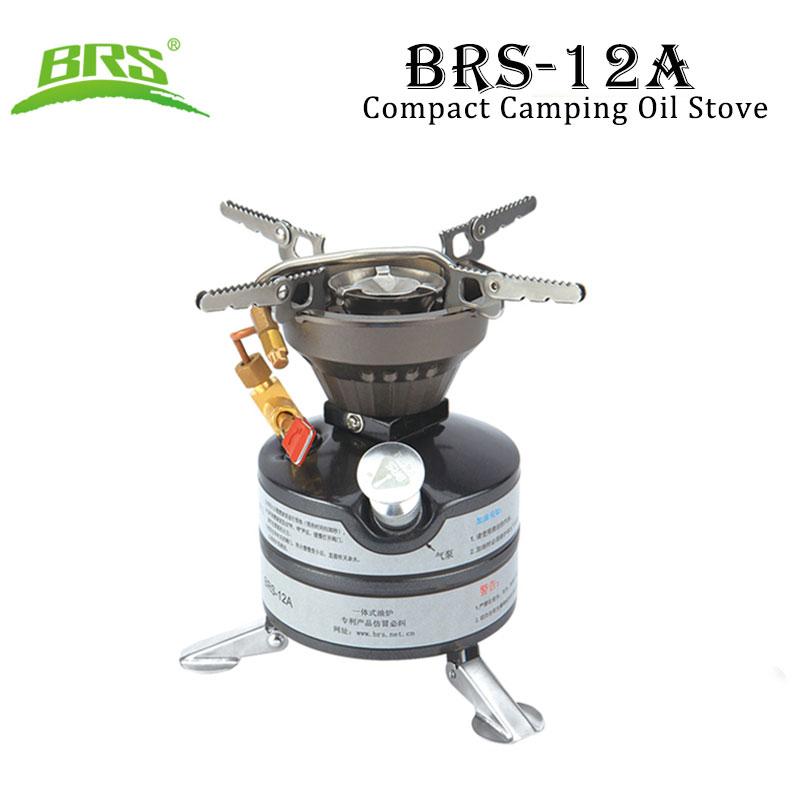 BRS 12A Camping Stoves Gasoline Oil Stove Portable for Cookout BBQ Fishing Picnic Military Army Tactical