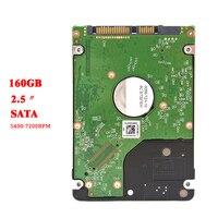 SNOAMOO внутренний жесткий диск 160 Гб Sata2-sata3 150 МБ/с. 2,5 'жесткий диск HDD 2 Мб/8 mb 5400-7200 об/мин для ноутбук Laptop персональный компьютер Дискотека Дуро