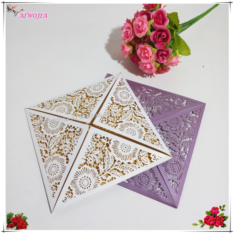 30pcs/set Party Wedding Decoration Supplies Hollow Butterfly Wedding  Invitations Laser Table Name Card Business