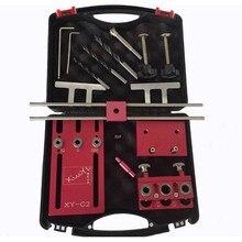 Doweling 1 ジグ建具システム穴パンチ計器ボックスで設定 で木工ドリルガイドキットロケータ木工ロケータ