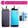 """High quality 5.0"""" For Acer Liquid Jade S S56 LCD Display + Touch Screen Digitizer Assembly Replacement + Tools Free Shipping"""