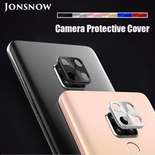 JONSNOW 360 Full Protection Metal Camera Lens Protector for Huawei Mate 20 Pro 20X Clear Glass