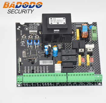 Universal 230VAC Power input Swing Gate opener board card chip circuit board controller Control Panel remote control optional - DISCOUNT ITEM  5% OFF All Category