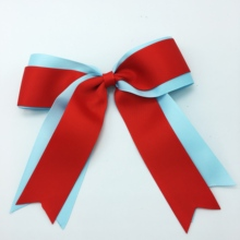 1PCS/SET 7 Girls Inch Large  Cheer Bows Elastic Band Hair Bow Accessories
