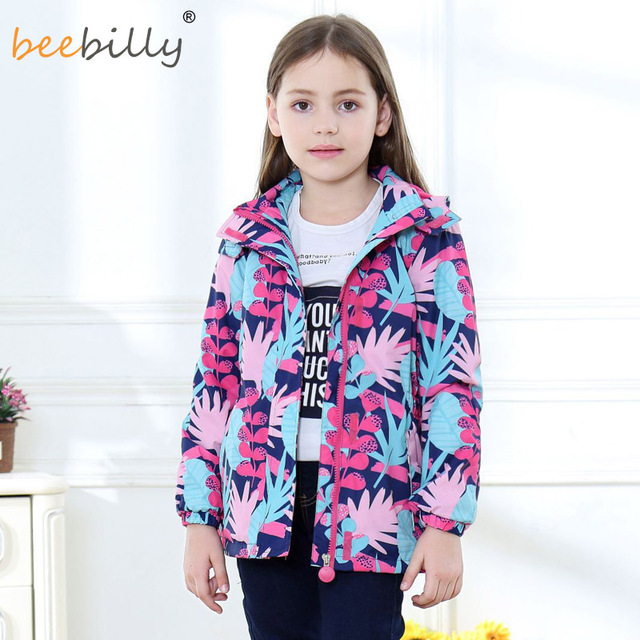 NEW Waterproof Windproof Children Outerwear Girls Jackets Children Kids Coat Warm Polar Fleece For 3-12T Winter Autumn Spring