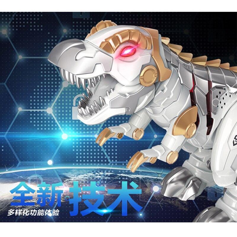 RC dinosaure animal de compagnie marche avec chanson clignotant lumière Robot électrique figurines jouets cadeaux pour enfants enfants