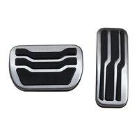 1 Set For Ford Fusion/Lincoln MKZ No Drill Gas Brake Pedal Cover Accessories