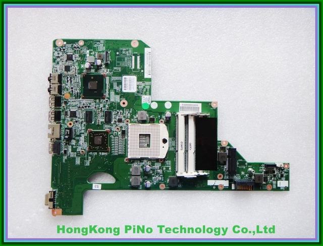 Stock envío gratis g62 g72 placa base para hp 615381-001 512 m hm55 100% netebook probado garantía de 60 días