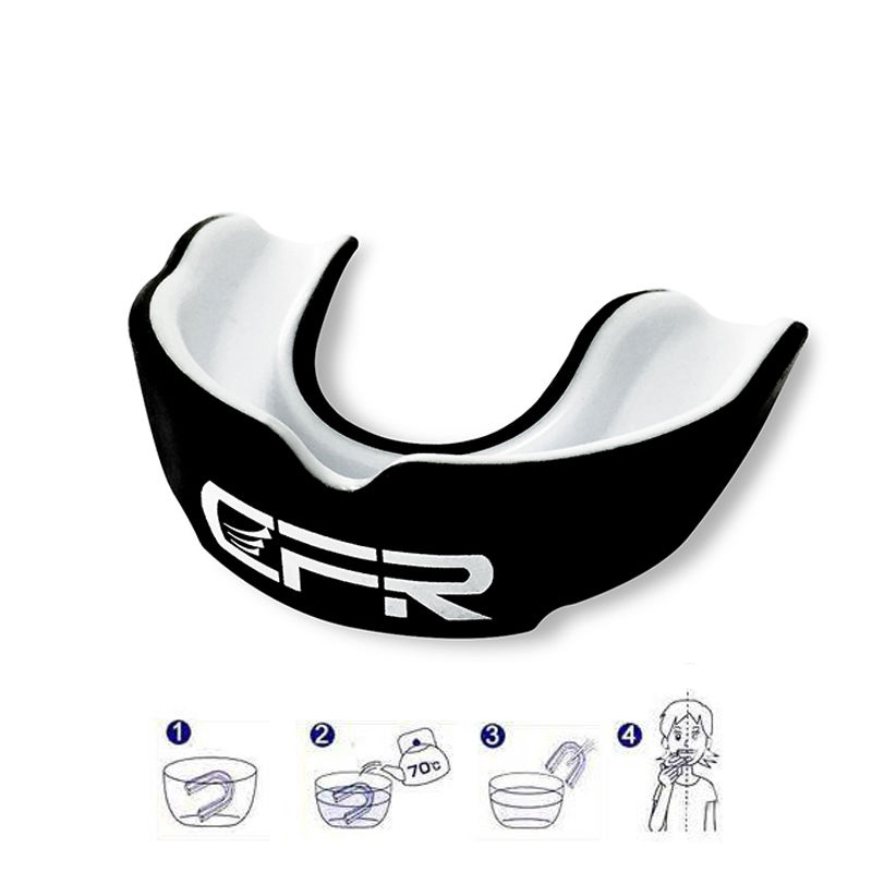 Top Sale CFR Mouthguard Mouth Guard Teeth Protect Double Side Boxing MMA Sanda Mouthguard Wear Braces Gum Shield Gear Safety