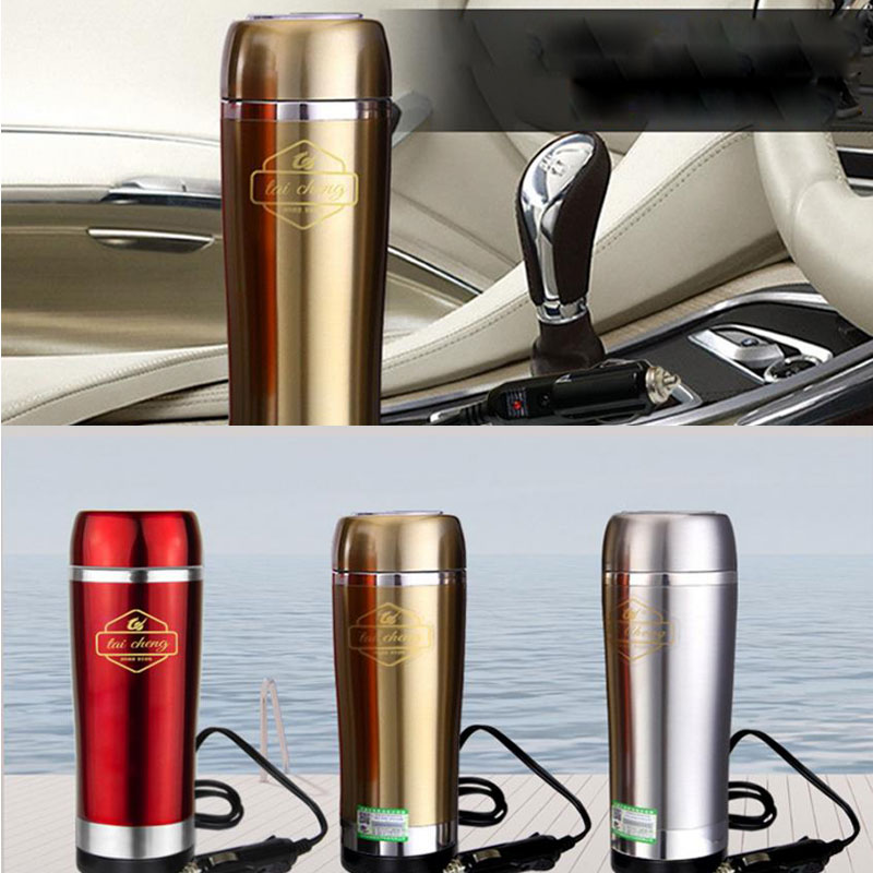 ФОТО Car Thermal Insulation Electric Kettle Redmond Travel Car Electric Water Kettle Electric Teapot Panela Eletrica Anti Scald