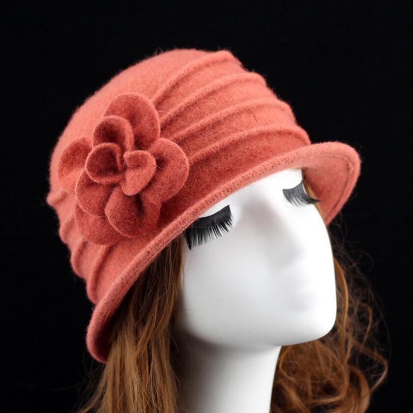 γυναικείο dome fedora 100% μαλλί καπέλο - Αξεσουάρ ένδυσης - Φωτογραφία 5