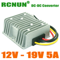 New Arrival, DC DC Step-up 12V to 19V 5A Power Converter, 95W Car Laptop Power Supply