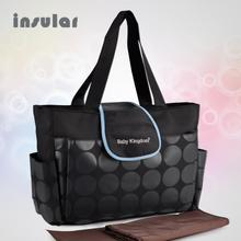 New Style Free Shipping Fashion Baby Diaper Bags Multifunctional Nappy Bags Mommy Bags