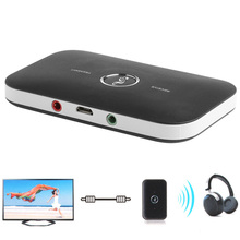 2in1 Wireless Bluetooth Transmitter Receiver A2DP Home TV Stereo Audio Adapter