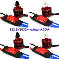 4X2212 920kv Безщеточный 4x 30a Simonk Esc Quad F450 X525 Multirotor